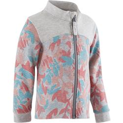 Veste Baby Gym 120 gris/rose