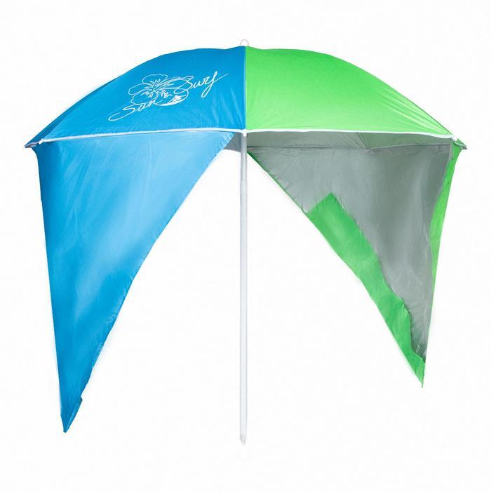 sp sombrilla azul claro/verde