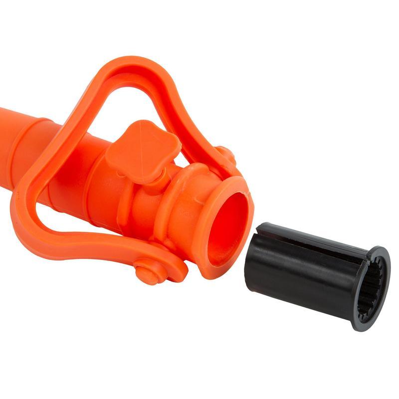 CAROTTE fixation de pied PARASOL PARUV orange