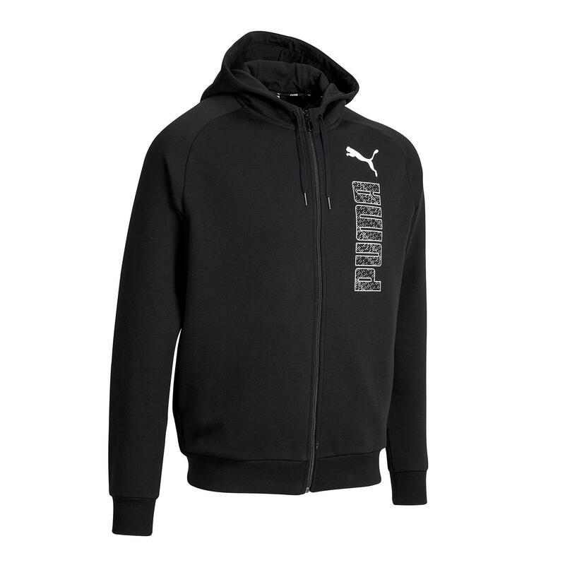 Men's Tracksuit Jacket - Black
