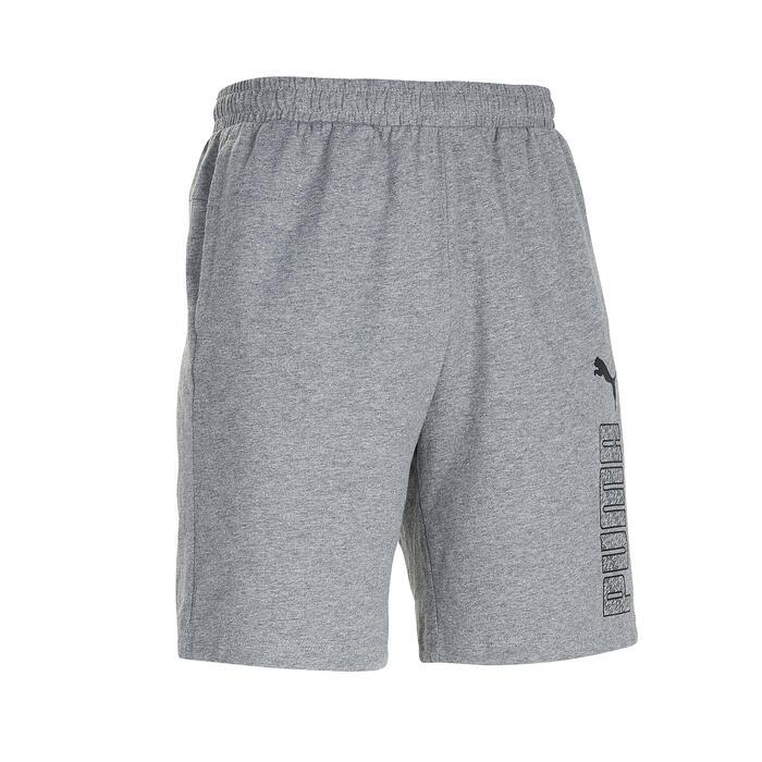 Short Puma homme gris clair