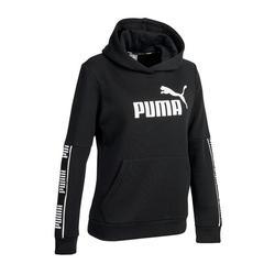 Hoodie voor pilates en lichte gym dames zwart