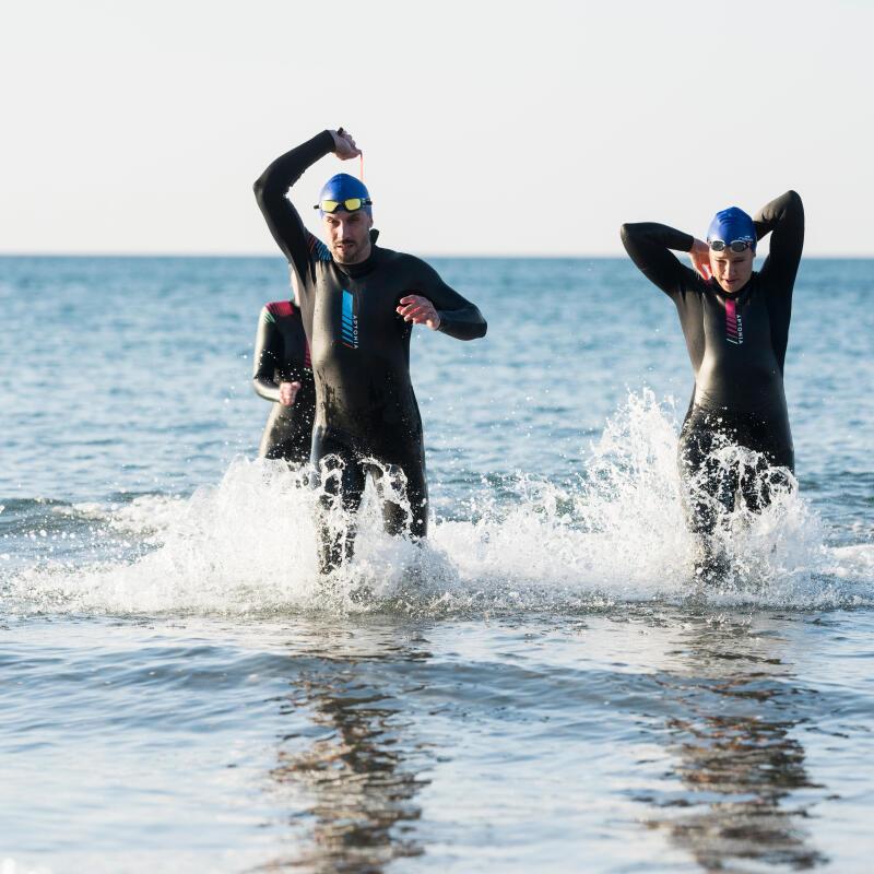 Teknik för simning i öppet vatten