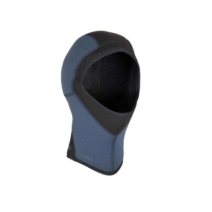 Capucha de buceo para traje semiseco de neopreno de 7mm