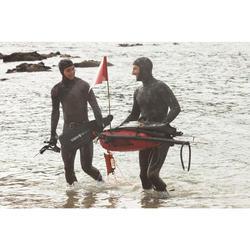 Bouée signalisation sac à dos étanche de chasse sous-marine SPF 900