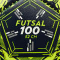 BOLAS FUTSAL Futsal - Bola de Futsal FS100 52 cm IMVISO - Futsal