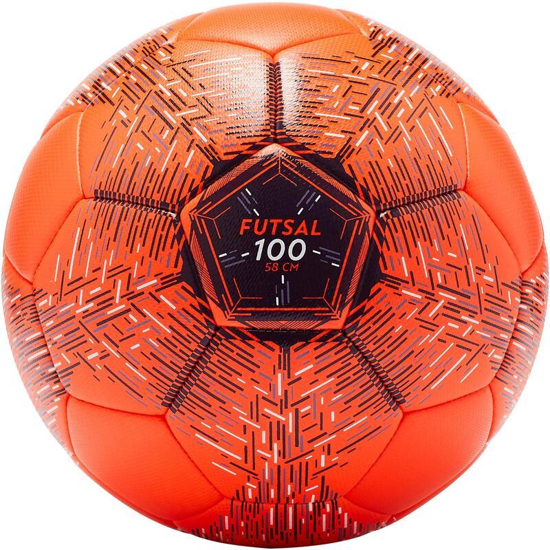 Balón Fútbol Sala Imviso FS100 58 cm (talla 3) naranja