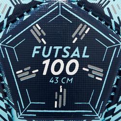 Balón de Fútbol sala 100 43 cm (talla 1)