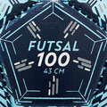 FUTSAL BALLS Football - Futsal Ball FS100 - 43 cm IMVISO - Football Equipment