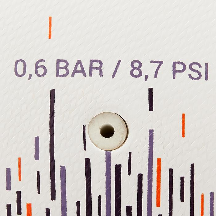 混合材質五人制足球100 63 cm-白色