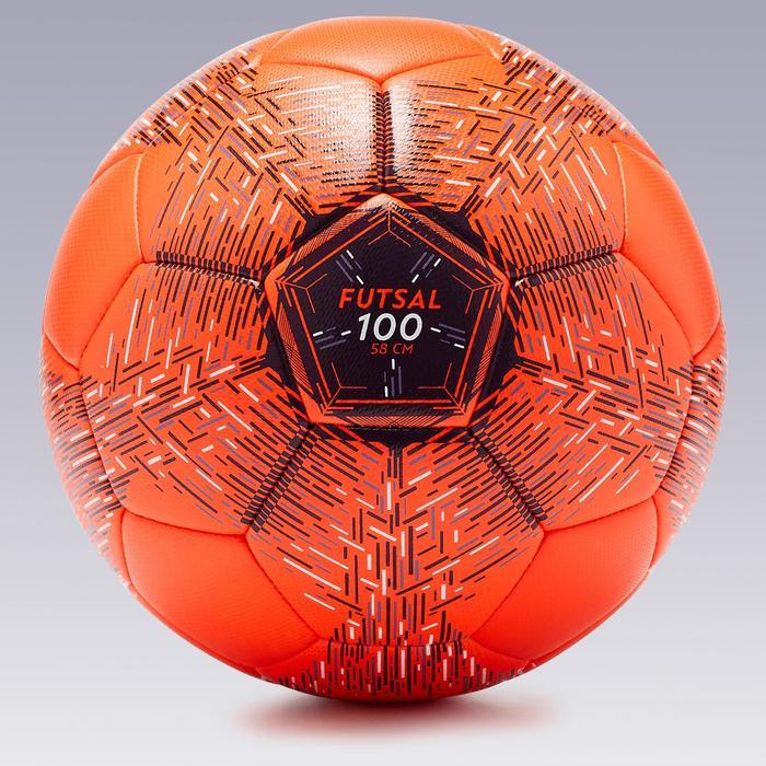 Bal voor zaalvoetbal FS100 58 cm (maat 3)