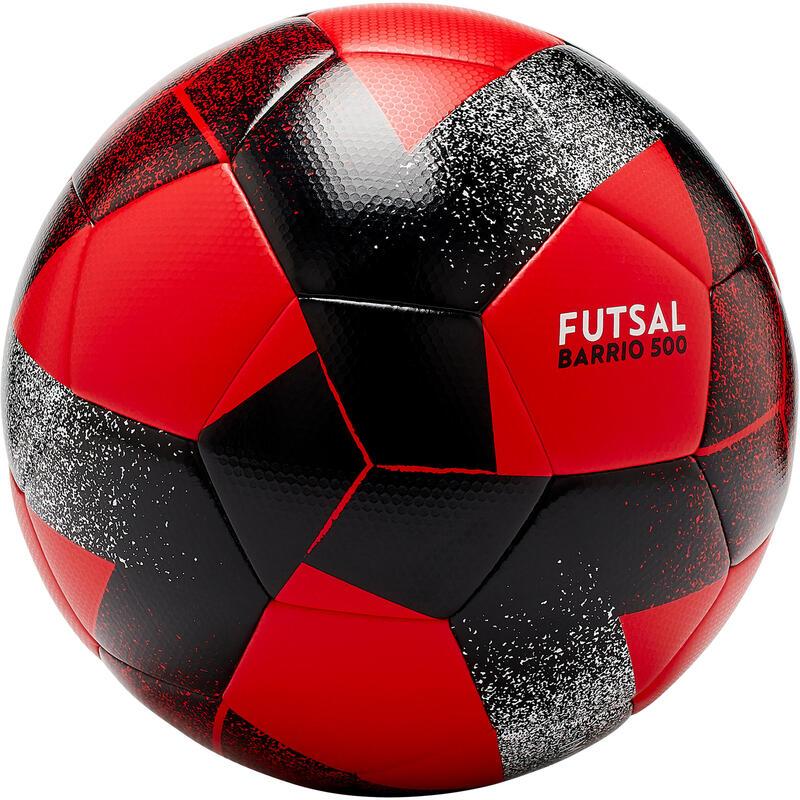 Futsal Topu - 63 cm - Kırmızı / Siyah - Barrio