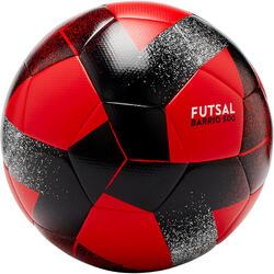 Bola de Futsal 500 Barrio 63cm Preto/Vermelho