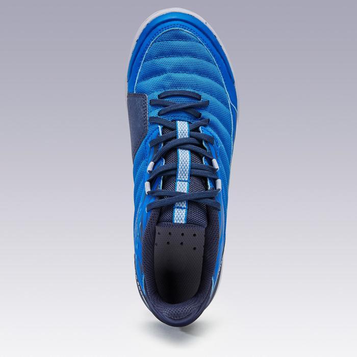 Hallenschuhe Futsal Eskudo 500 IN Damen blau
