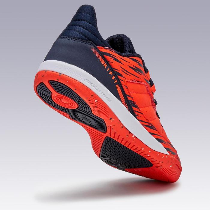 Zapatillas de fútbol sala ESKUDO 500 JR rojo