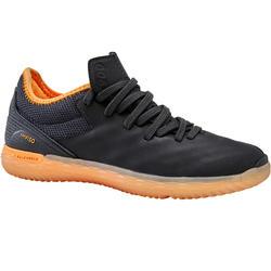 Zaalvoetbalschoenen voor kinderen Eskudo 900 zwart/oranje