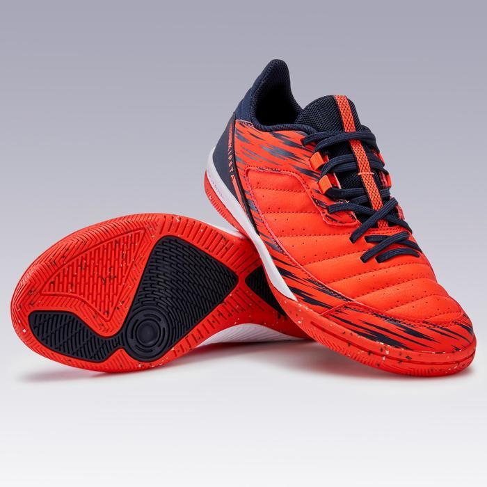 Zaalvoetbalschoenen kind Eskudo 500 rood