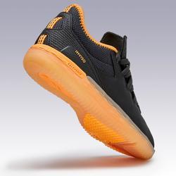 Hallenschuhe Futsal Eskudo 900 Kinder schwarz/orange