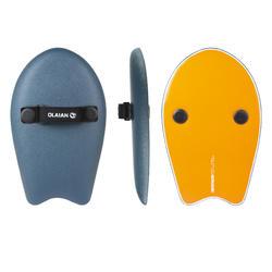 Handplane bodysurf 100 blauw