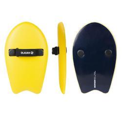 Handplane bodysurf 100 geel