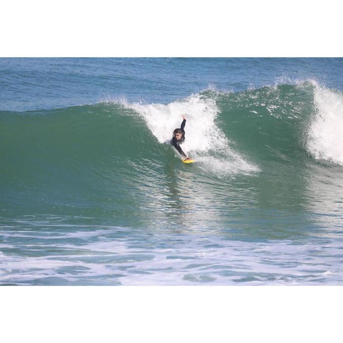 plaquette handplane bodysurf 100 bleu