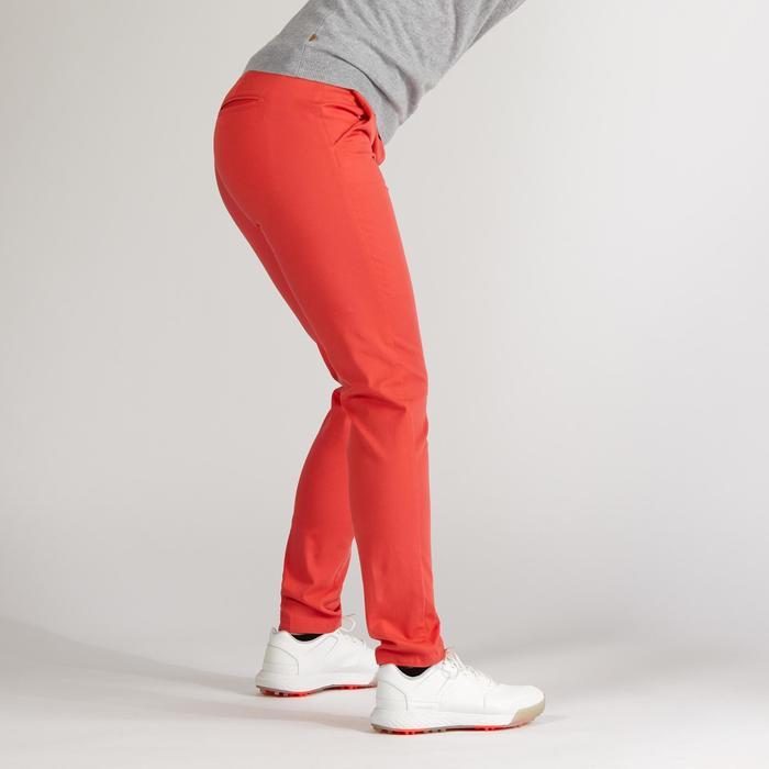 Golfbroek voor dames aardbeirood