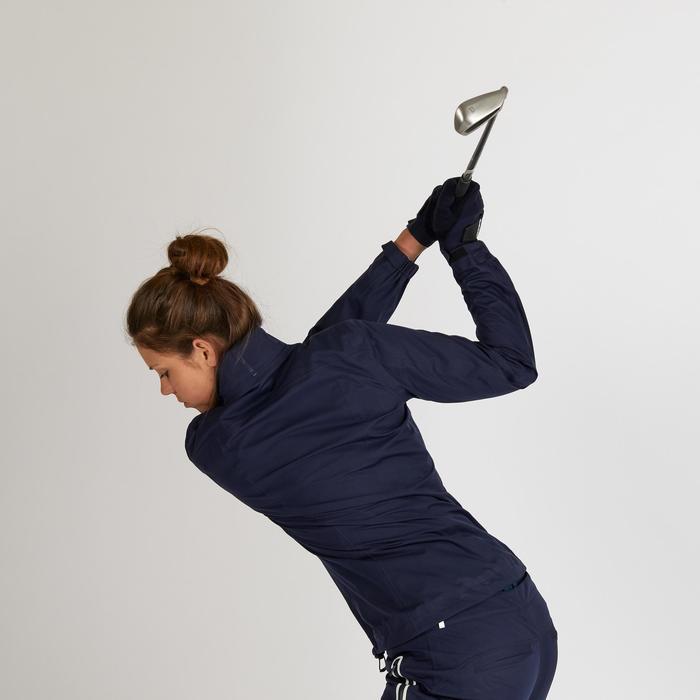 Golf Regenjacke wasserdicht Damen marineblau