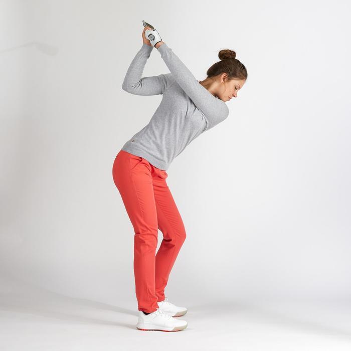 Golfhose Damen erdbeerrosa