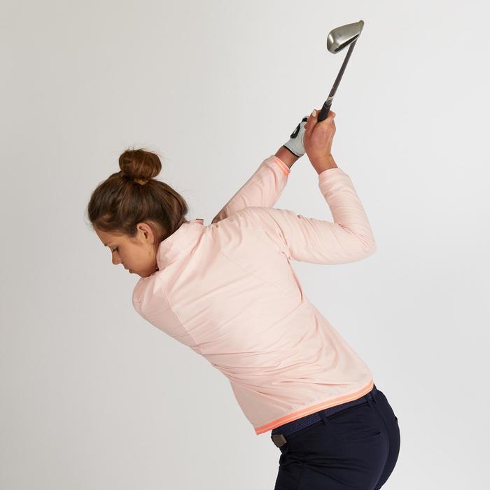 Golf Windbreaker wasserabweisend Damen rosa