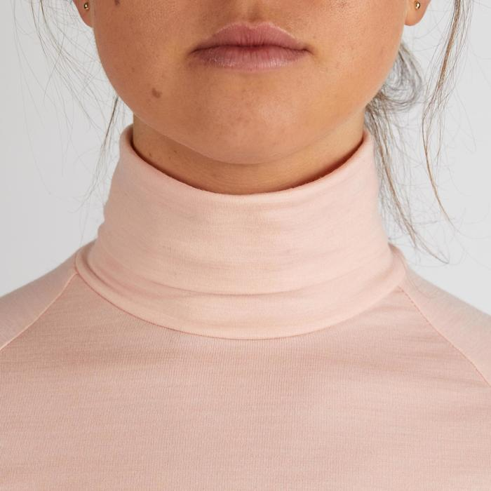 SOUS PULL GOLF TEMPS FROID POUR FEMME ROSE