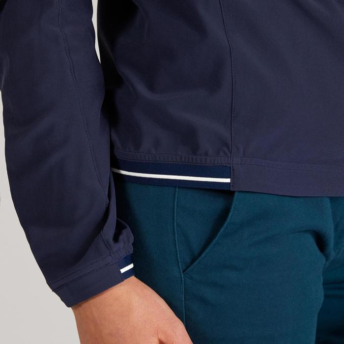 Golf Windbreaker wasserabweisend Damen marineblau