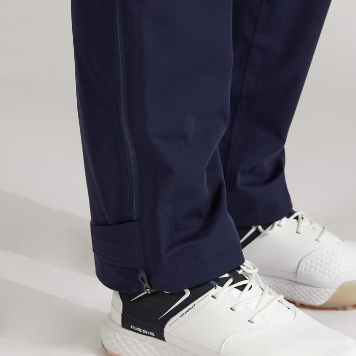 Pantalon de golf pour FEMME Rain Weather BLEU MARINE