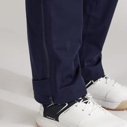 Regenbroek voor golf dames marineblauw