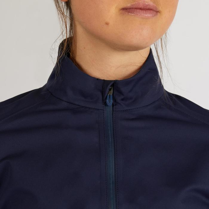 Golf Regenjacke wasserdicht RW500 Damen marineblau