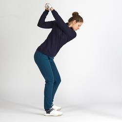 Golf Pullover winddicht Damen marineblau