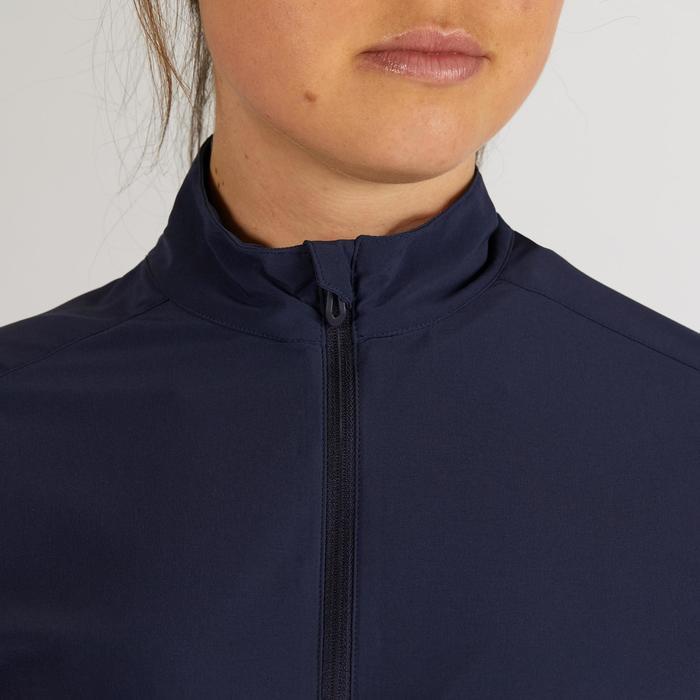 Waterafstotend windjack voor dames marineblauw