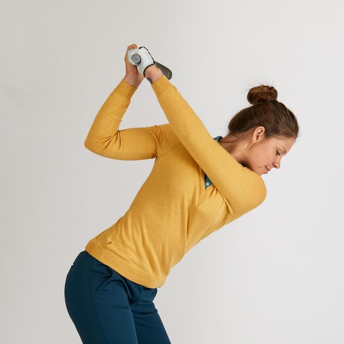 Golf Pullover Damen gelb