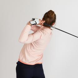Waterafstotend windjack voor golf dames roze