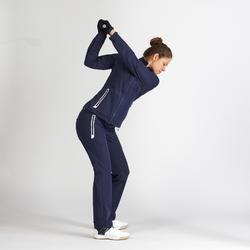 Regenjack voor golf dames marineblauw