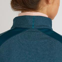 Golf Pullover warm Damen dunkelpetrol