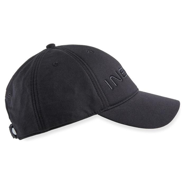 Golfpet/oorwarmer voor heren koud weer zwart