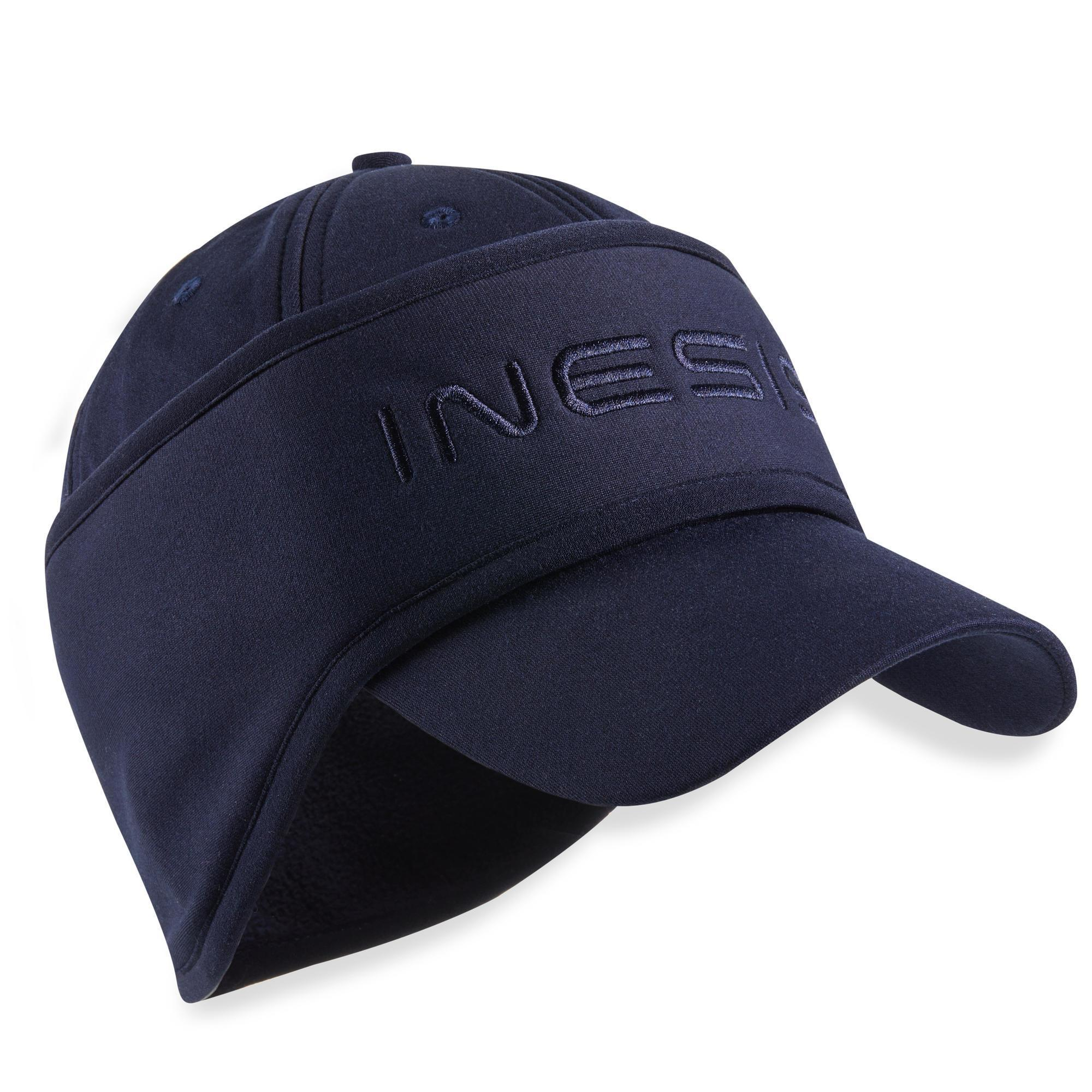 Golf Cap Stirnband warm Herren marineblau | Accessoires > Mützen | INESIS