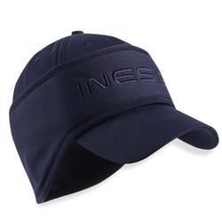 Golfpet met hoofdband voor heren winter CW500 marineblauw