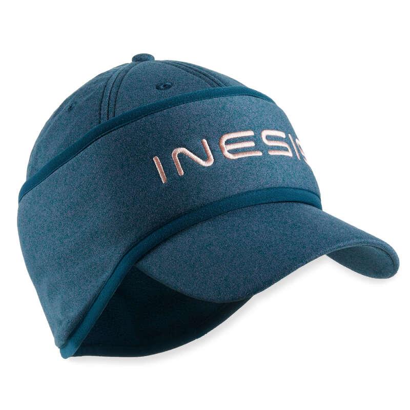 WOMENS COLD WEATHER GOLF CLOTHING Golf - W CAP CW DARK GREEN INESIS - Golf Clothing