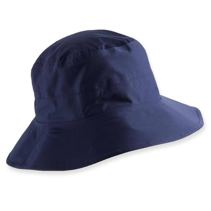 Bob de golf de pluie homme RW500 bleu marine taille 2: 58 -62 CM