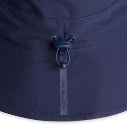 Regenhoed voor golf dames marineblauw