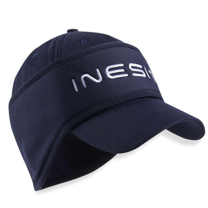 WOMENS COLD WEATHER GOLF CLOTHING Golf - W CW CAP NAVY INESIS - Golf Clothing
