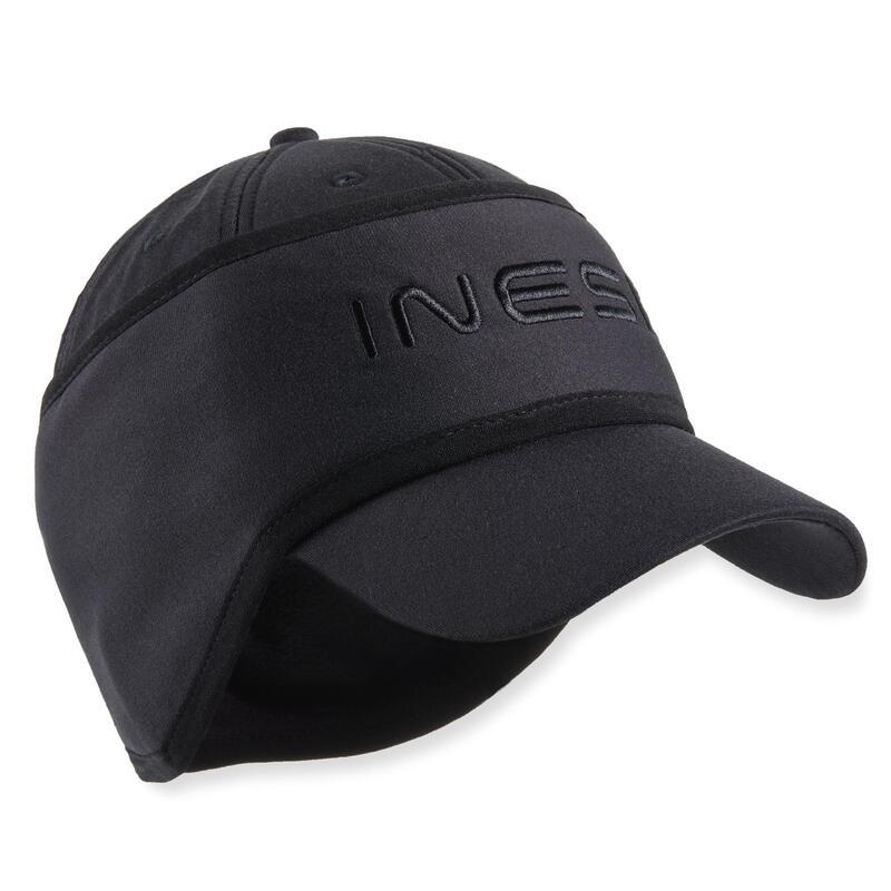 Golfpet met hoofdband voor heren winter CW500 zwart