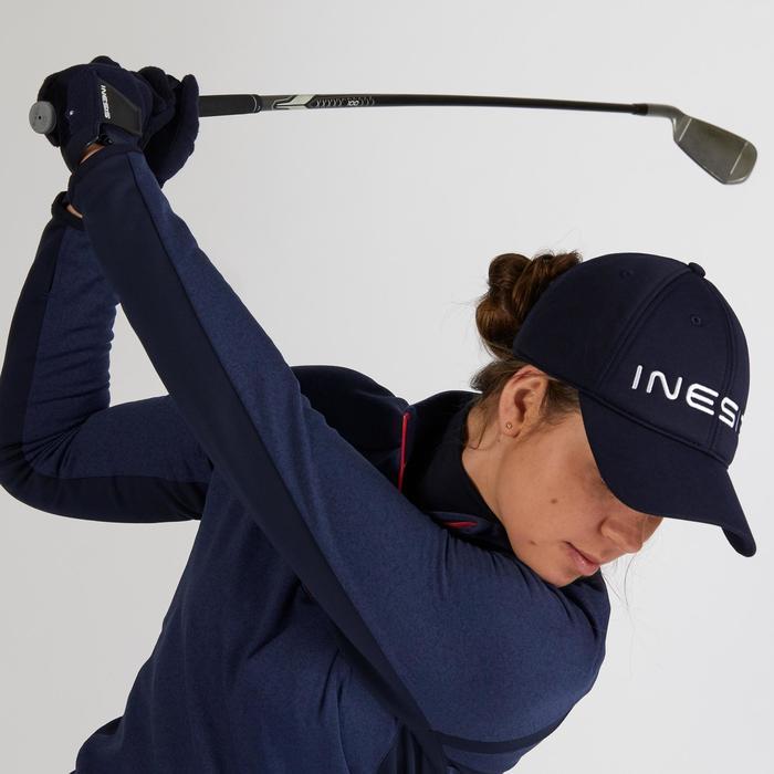 Golf Cap Stirnband warm Damen marineblau