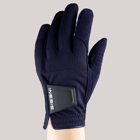 Sarung Tangan Pair Golf Hujan Wanita - Navy Blue